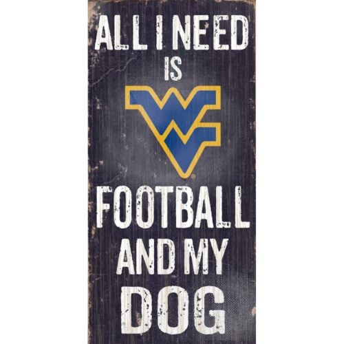 West Virginia Mountaineers Football & My Dog Sign