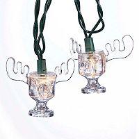 Kurt Adler National Lampoon Christmas Vacation Moose Mug String Light Set