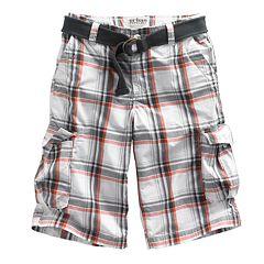 Boys 8-20 & Husky Urban Pipeline™ Plaid Cargo Shorts