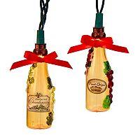 10-Light Wine Bottle String Lights