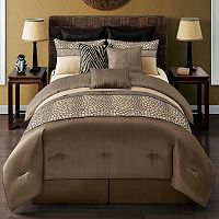 Metropolis Mali 9 pc Reversible Comforter Set