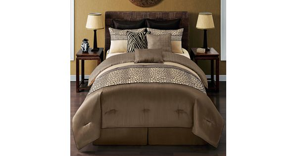 Metropolis Mali 9 Pc Reversible Comforter Set