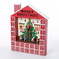 Kurt Adler Santa's House Christmas Advent Calendar