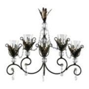 Mikasa Metallic Leaves Wall Sconce