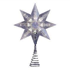 Kurt Adler 11.5-in. LED Star Christmas Tree Topper