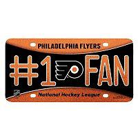 Philadelphia Flyers #1 Fan Metal License Plate