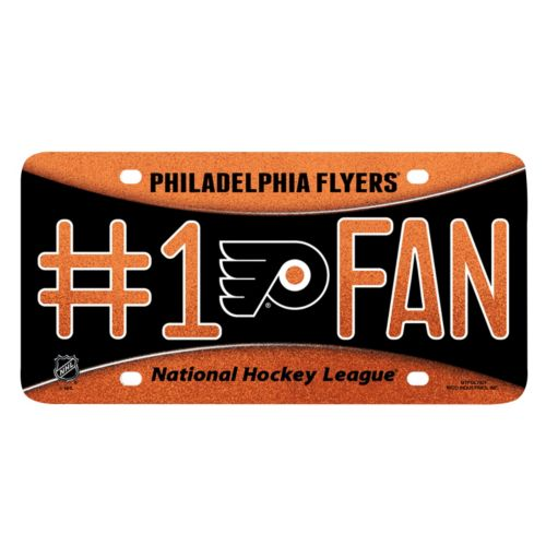 Philadelphia Flyers #1 Fan Metal License Plate