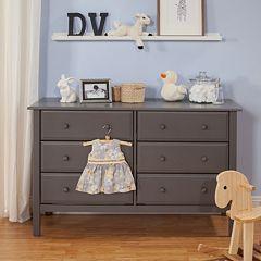 DaVinci Jayden 6-Drawer Double Wide Dresser by