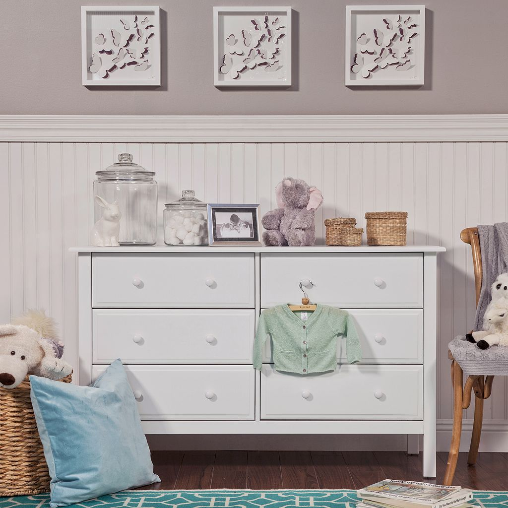 DaVinci Jayden 6-Drawer Double Wide Dresser