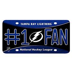Tampa Bay Lightning #1 Fan Metal License Plate