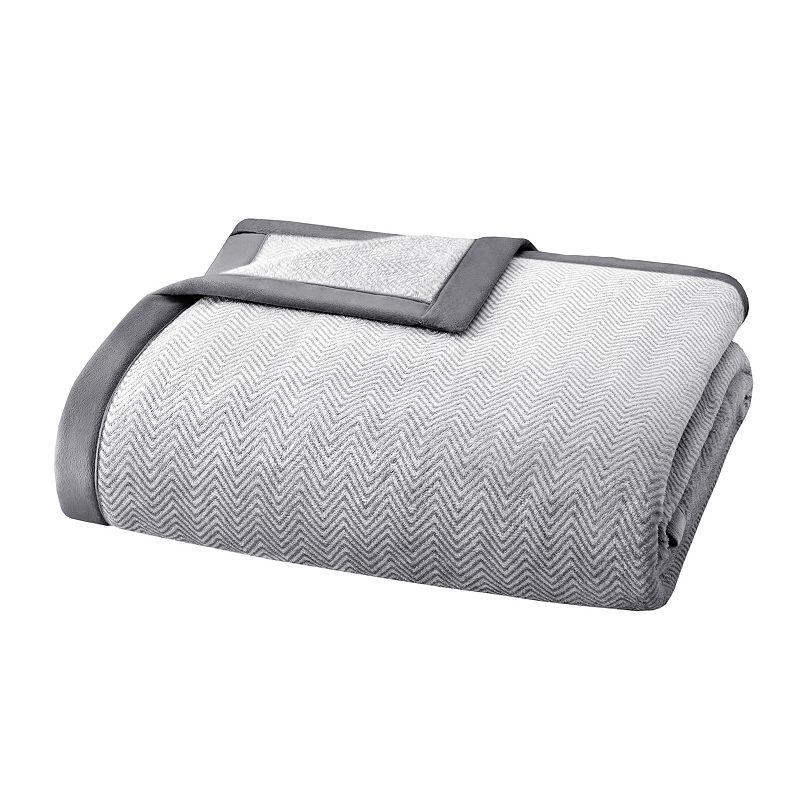 Madison Park Microlight Plush Blanket - Twin