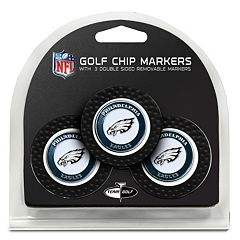 Team Golf Philadelphia Eagles 3-pack Poker Chip Ball Markers