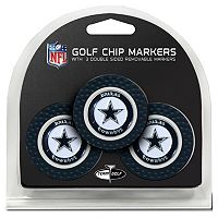Team Golf Dallas Cowboys 3-pack Poker Chip Ball Markers