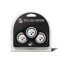 Team Golf Pittsburgh Steelers 3-pack Poker Chip Ball Markers