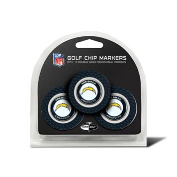 Team Golf San Diego Chargers 3-pack Poker Chip Ball Markers