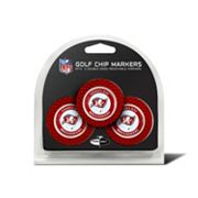 Team Golf Tampa Bay Buccaneers 3-pack Poker Chip Ball Markers
