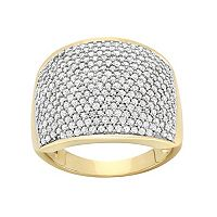 1 1/2 Carat T.W. Diamond 10k Gold Ring