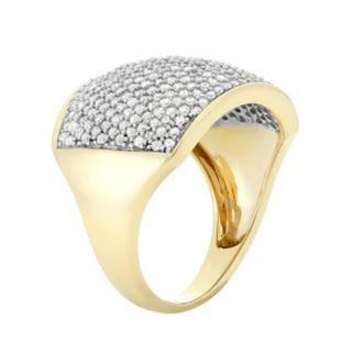 1 1/2 Carat T.W. Diamond 10k Gold Ring