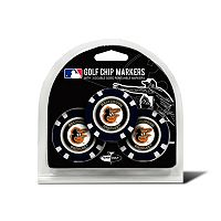 Team Golf Baltimore Orioles 3-pack Poker Chip Ball Markers