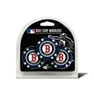 Team Golf Boston Red Sox 3-pack Poker Chip Ball Markers