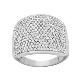 1 1/2 Carat T.W. Diamond 10k White Gold Ring
