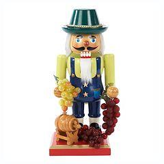 Kurt Adler Winemaker Christmas Nutcracker