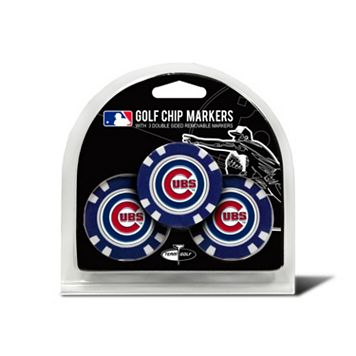 Team Golf Chicago Cubs 3-pack Poker Chip Ball Markers