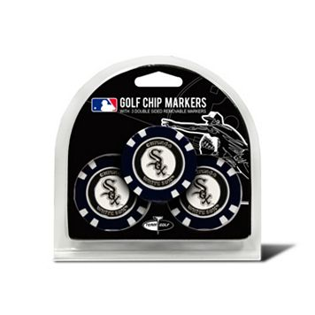 Team Golf Chicago White Sox 3-pack Poker Chip Ball Markers