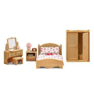 Calico Critters Parents Bedroom Play Set