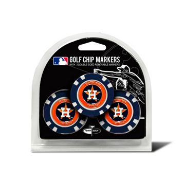 Team Golf Houston Astros 3-pack Poker Chip Ball Markers
