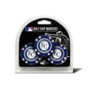 Team Golf Kansas City Royals 3-pack Poker Chip Ball Markers