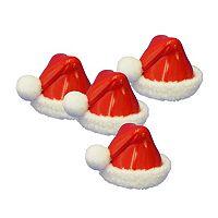 Kurt Adler 8-piece Santa Hat Christmas Place Card Holder Set