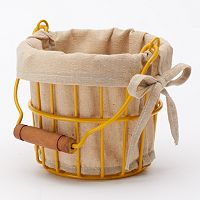 Food Network™ Farm Fresh Small Round Wire Basket