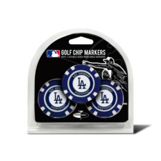 Team Golf Los Angeles Dodgers 3-pack Poker Chip Ball Markers