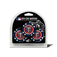 Team Golf Minnesota Twins 3-pack Poker Chip Ball Markers