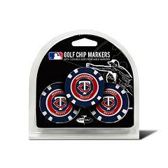 Team Golf Minnesota Twins 3-pack Poker Chip Ball Markers
