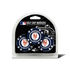 Team Golf New York Mets 3-pack Poker Chip Ball Markers
