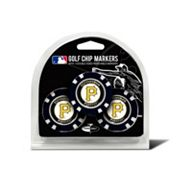 Team Golf Pittsburgh Pirates 3-pack Poker Chip Ball Markers