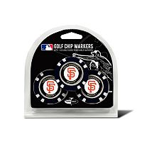 Team Golf San Francisco Giants 3-pack Poker Chip Ball Markers