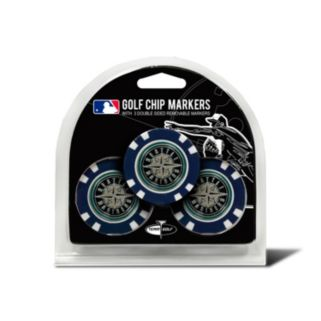 Team Golf Seattle Mariners 3-pack Poker Chip Ball Markers