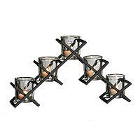 Mikasa Criss-Cross Tealight Candleholder