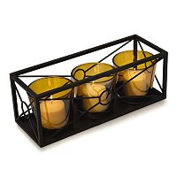 Mikasa Hurricane Window Rectangular Candleholder