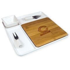 Picnic Time NFL Peninsula 5 pc Cutting Board & Cheese Set