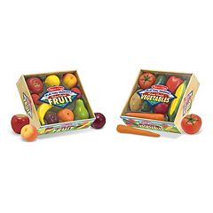 Melissa & Doug Fruits & Vegetables Play-Time Set