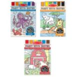 Melissa & Doug Paint with Water Bundle - Farm, Ocean & Safari