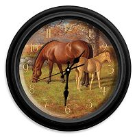 Reflective Art ''A Proud Heritage'' Wall Clock
