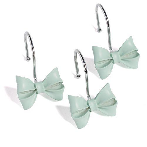 LC Lauren Conrad Bow 12-pk. Shower Curtain Hooks
