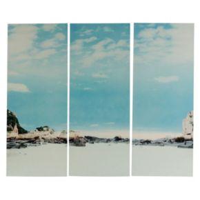 3-piece Beach Canvas Wall Art Set