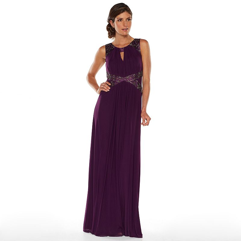 Simple Chaps MixedMedia Evening Gown  Women39s