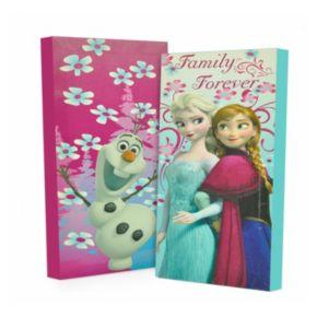Disney's Frozen 2-pk. Anna, Elsa and Olaf Glow-in-the-Dark Wall Art